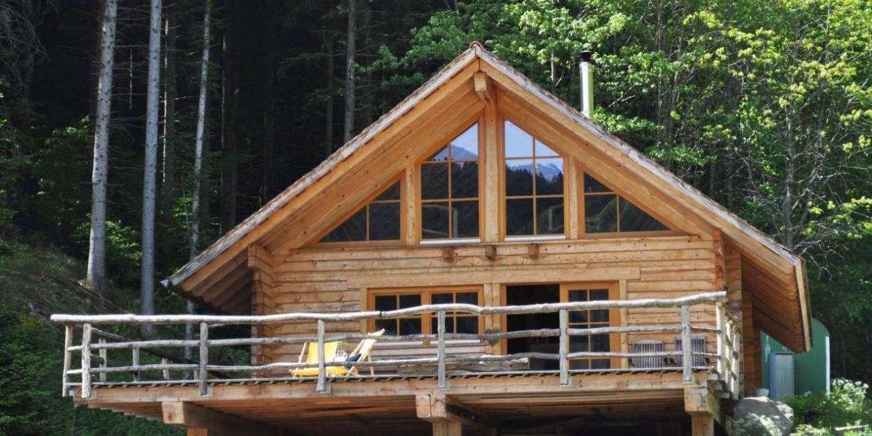 Blockhaus Schwarzwald Hütte stellvertretend für Blockhaus Schwarzwald Hütte