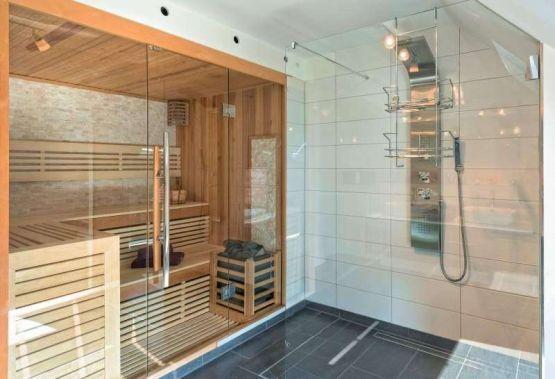 luxus ferienhaus schwarzwald ferienwohnung mit kamin sauna. Black Bedroom Furniture Sets. Home Design Ideas