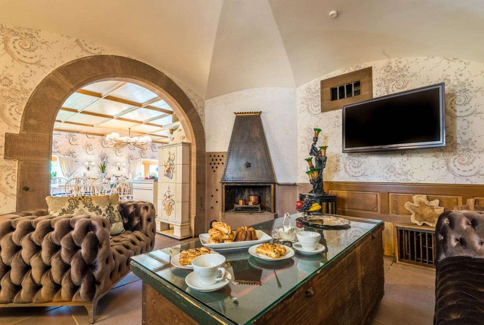 Sitz Lounge Mit Wundervollen Möbelnnge